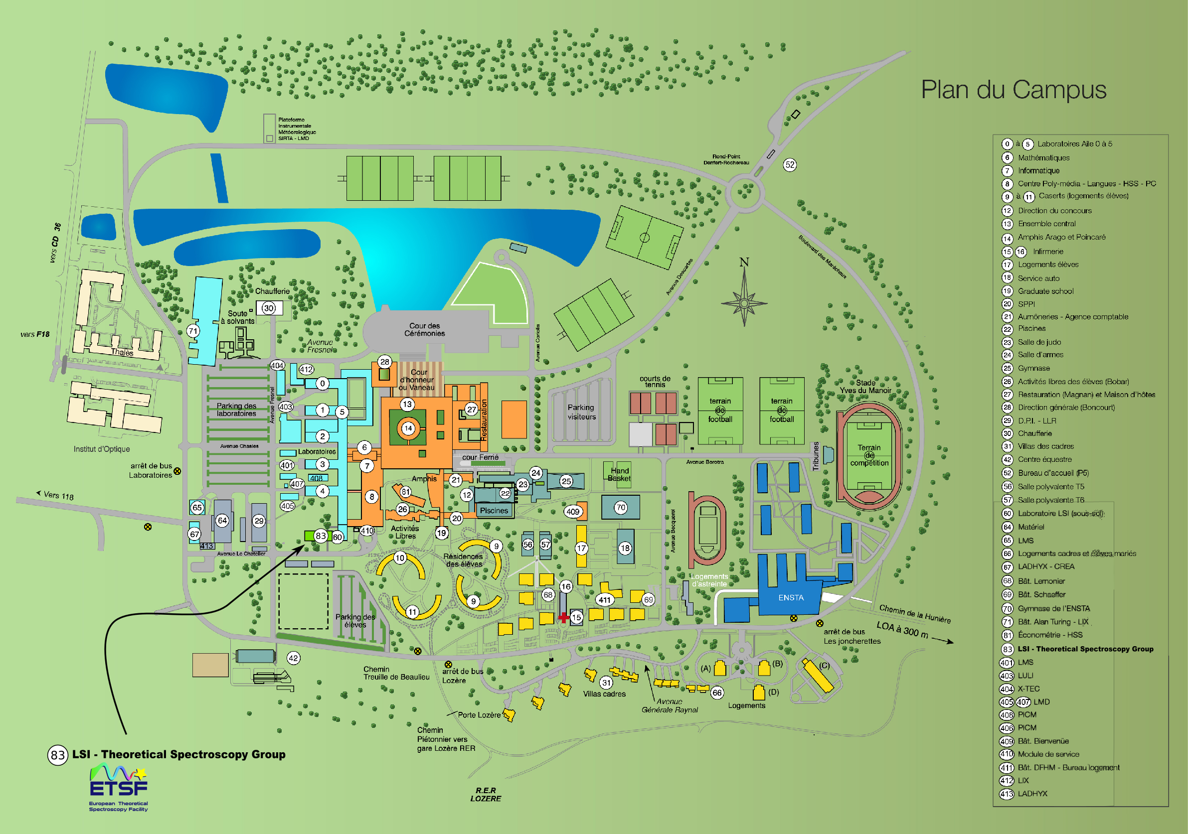 St Cloud Campus Map.How To Reach Us Theoretical Spectroscopy Group